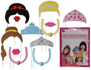 Photo booth Prinsessa -setti