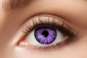 ​Big eyes Purple -piilolinssit