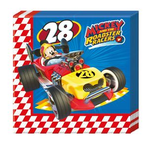 Mickey and the Roadster Racers- aiheinen servetti